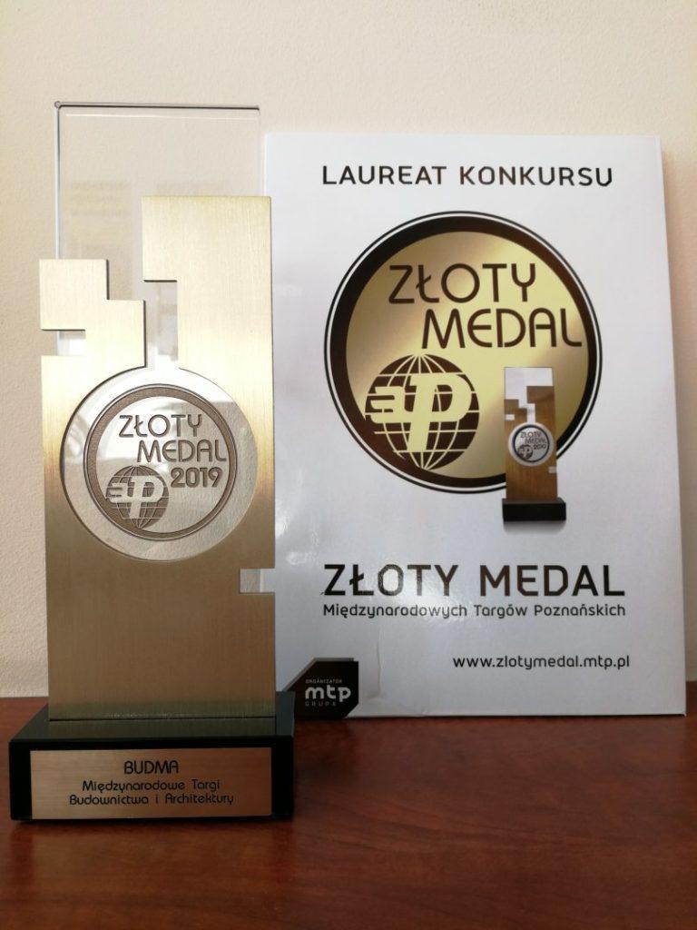 Nagrzewnica Master BV 500CR zdobywa prestiżowy Złoty Medal BUDMA 2019