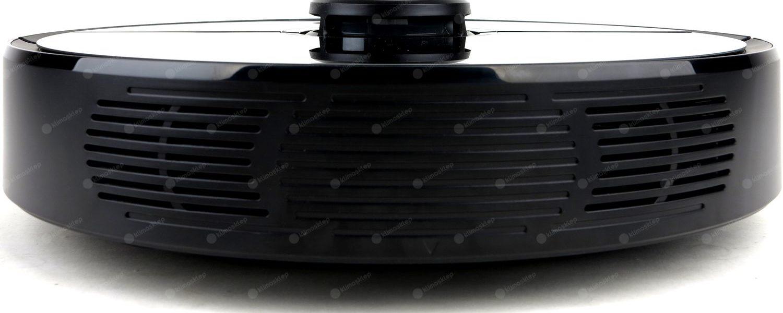 zbliżenie na czujnik laserowy w robocie xiaomi roborock