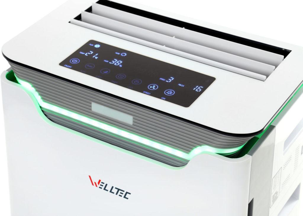 Oczyszczacz Welltec APH420H z funkcją nawilżania powietrza