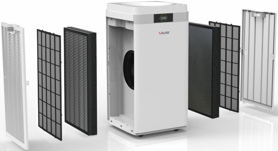 Oczyszczacz Welltec aph800 to podwójna siła filtracji