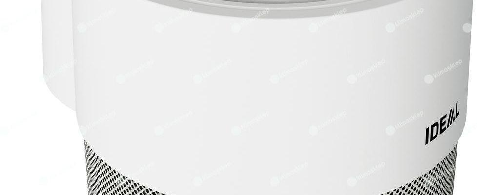 duży przycisk zasilania na obudowie oczyszczacza ap40pro
