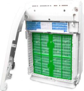 Oczyszczacz Daikin MC70L - ogromne filtry