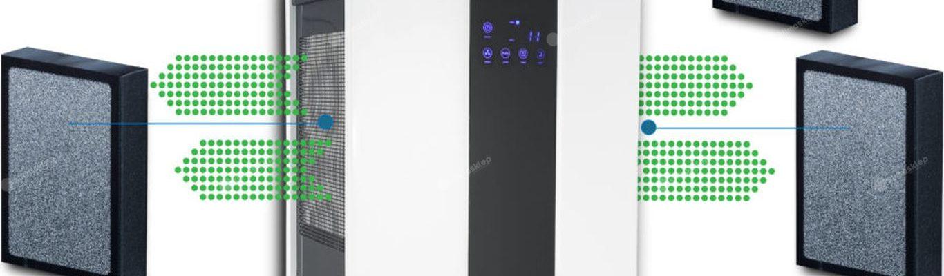 Oczyszczacz Prem-i-air pro 550 z trzema kasetami do filtracji powietrza