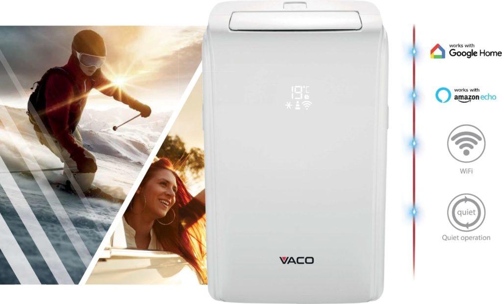 Vaco Ariffana VAC0909W z sterowaniem głosowym