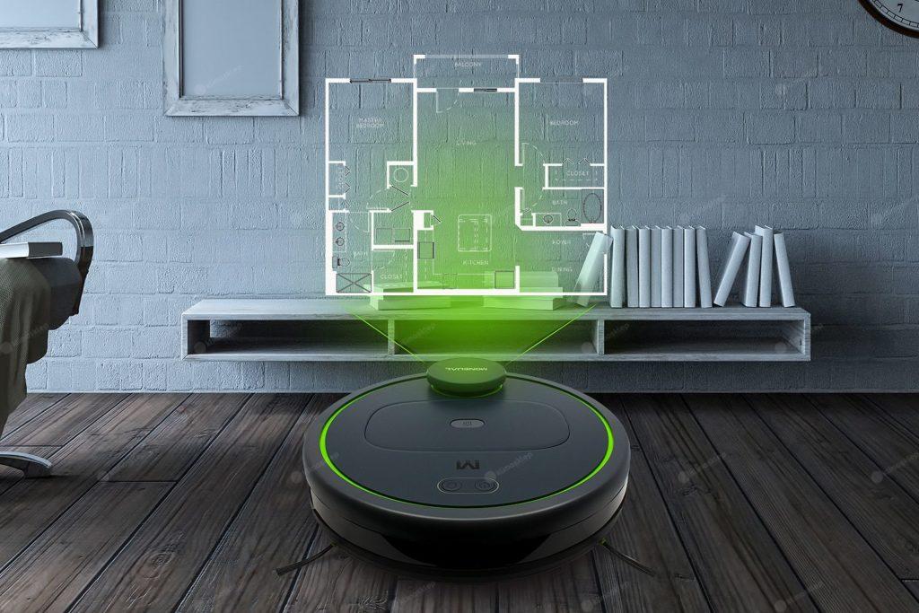 robot moneual w domu
