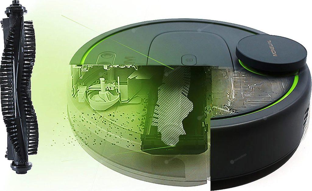 szczotka czyszcząca moneual mbot900
